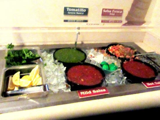 Salsa Counter, Rosa's Cantina, Temecula, Ca