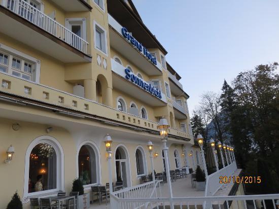 View Of Hotel Picture Of Grand Hotel Sonnenbichl Garmisch Partenkirchen Tripadvisor