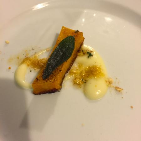 Sherburn, MN: Amuse Course, Roasted Local Squash