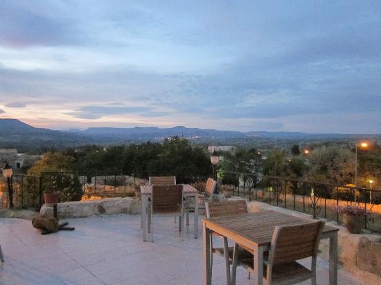 Assiana House: ホテル屋上からの眺め