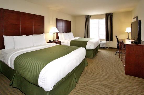 Νόξβιλ, Αϊόβα: Standard Double Queen Guest Room