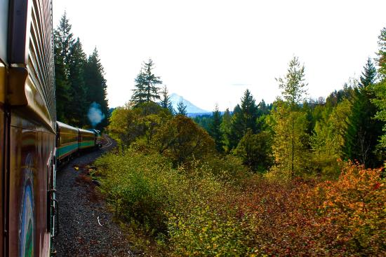 Hood River, OR: great train ride