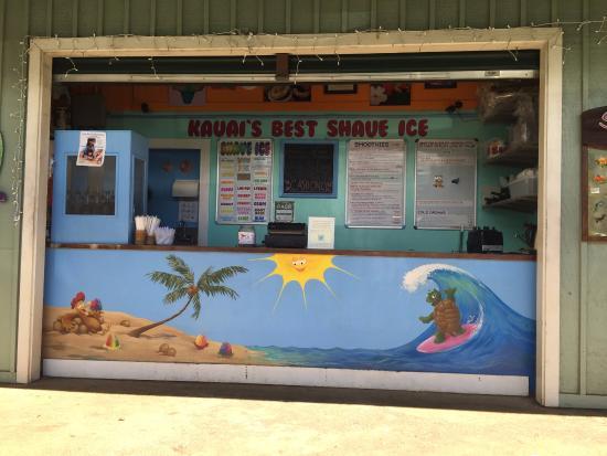 Princeville Center: Kauai's Best Shave Ice