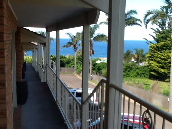 Twofold Bay Motor Inn: View from our room