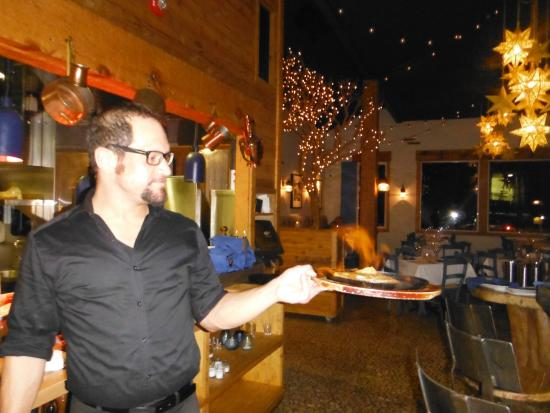 Jimmy's Taverna: Flaming Saganaki