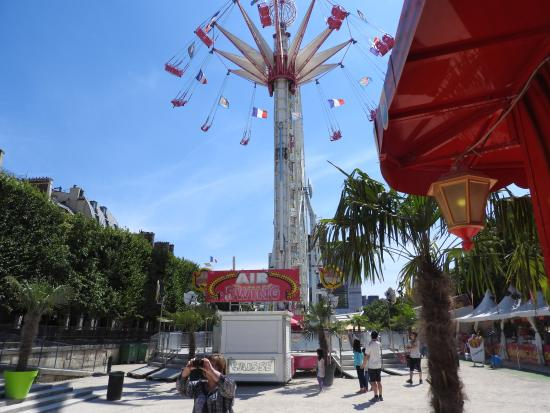 Amusement park picture of jardin des tuileries paris for Amusement parks in paris
