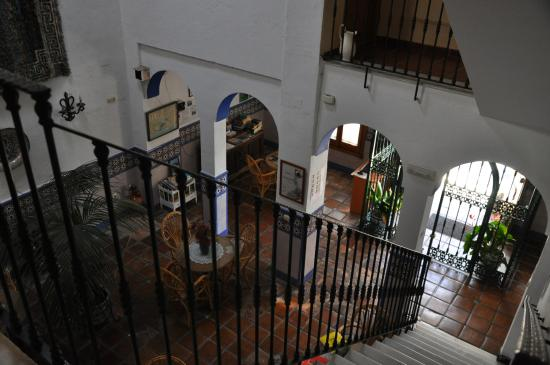 Hostal San Juan: Blick in den Frühstücksraum