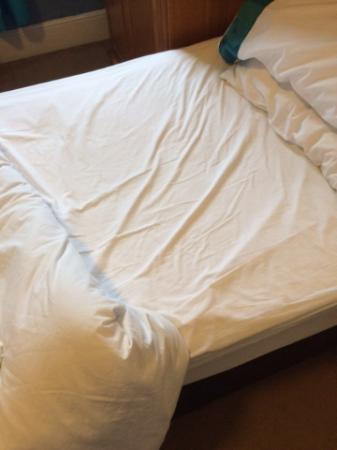 The Sherston Inn: Clean sheets?