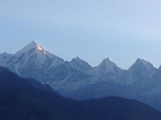 Hotel with best view of Panchchuli