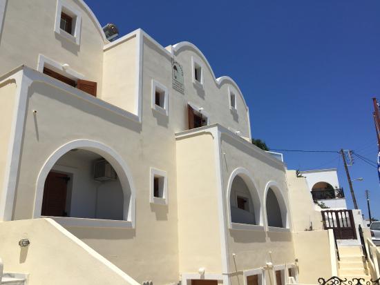 Anemomilos Suites Eingang