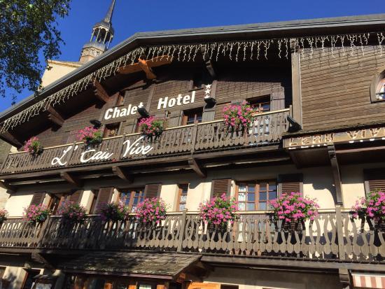 Chalet Hotel L'Eau Vive : Hôtel L'Eau Vive