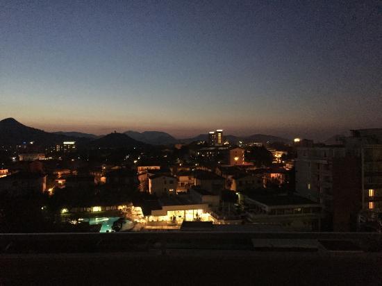 Hotel Des Bains Terme: subito dopo il tramonto