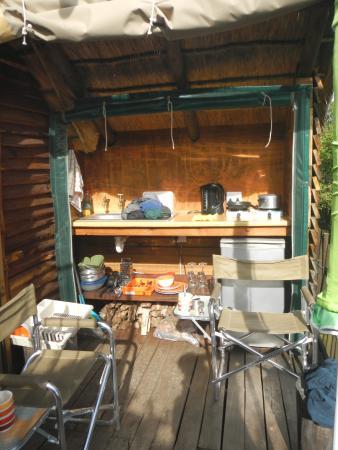 Addo, Sør-Afrika: bush cabin