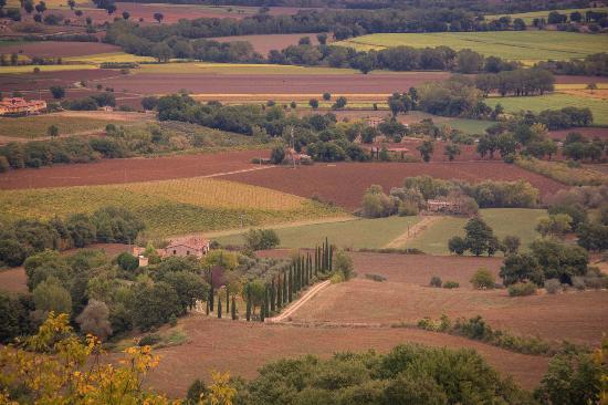 Фратта-Тодина, Италия: View from the balcony