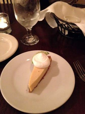 Water Coastal Kitchen: Sliver of Key Lime pie