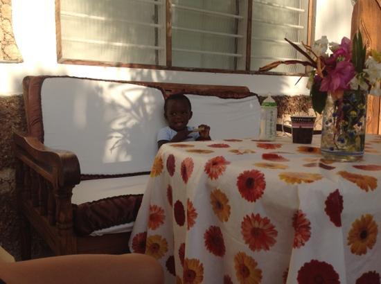 Jambo House Resort: colazione al jambo house
