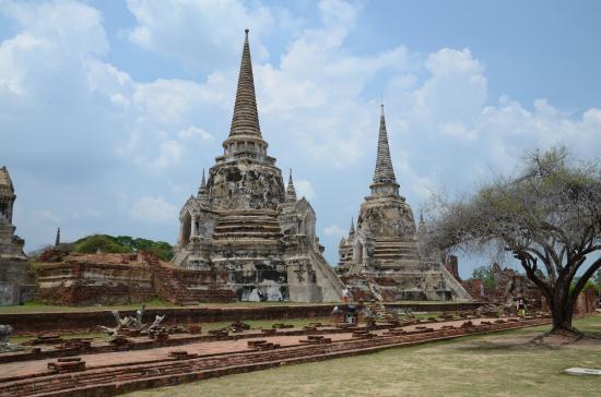 In bici per Ayuthaya - Picture of Ayutthaya Historical ...