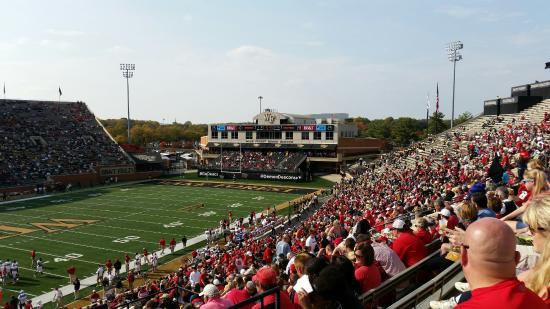 north end zone picture of bb t field winston salem tripadvisor rh tripadvisor com