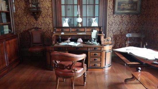 bureau de Monsieur Picture of Chateau De Labourdonnais Mapou