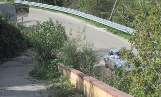 La pergola: Sul percorso della Targa Florio Storica