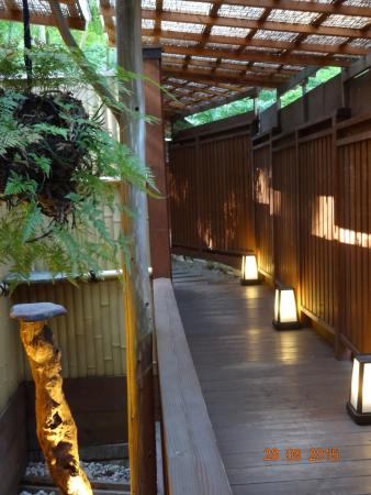 Taketoritei Maruyama: Private hot springs