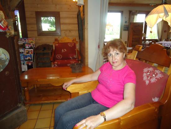 Gaillard, Frankrike: Удобные кресла в холле