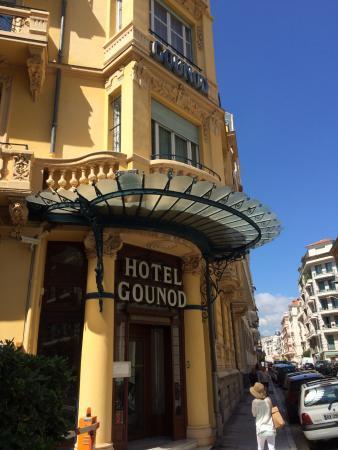 Hotel Gounod Nice: 入り口