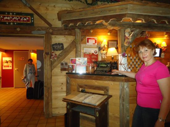 Hotel Porte de Genève : Ресепшн