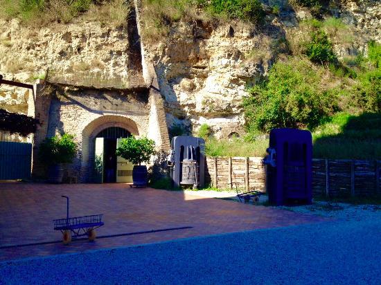 Torrimpietra, Италия: La cantina all'entrata
