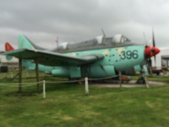 Davidstow Airfield & Cornwall At War Museum: Fairey Gannet