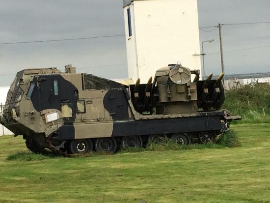 Davidstow Airfield & Cornwall At War Museum: Heavy equipment