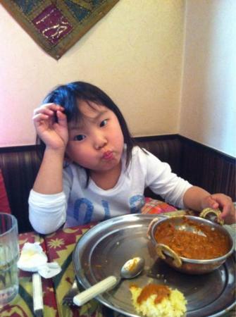 Indian Restaurant Shanthi Deli: 小さな子供には・・・