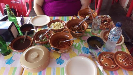 Ecab Explorer : Our lunch after Chichen Itza