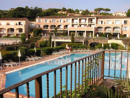 Hotel Les Jardins De Sainte Maxime Vue La Chambre