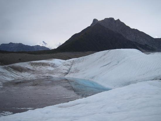 Kennicott, AK: Pool on Root Glacier