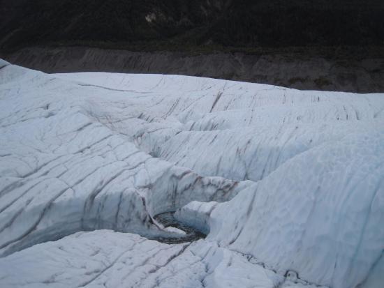 Kennicott, AK: Cracks and Crevasses
