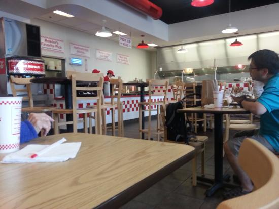 Five Guys Vacaville Ca Restaurant Picture Of Five Guys