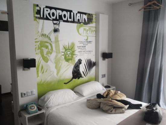 Hotel des Arts Bastille: letto comodo
