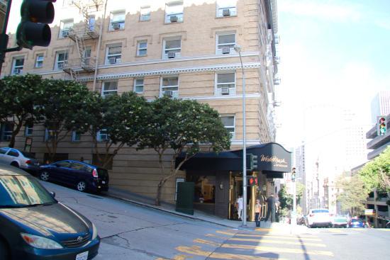 Worldmark San Francisco: Nøkternt, men svært sentralt