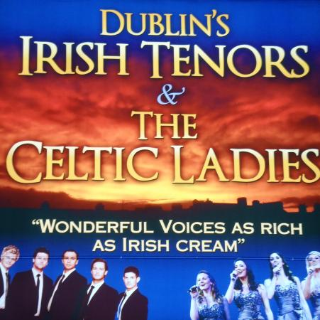 Twelve Irish Tenors: Outdoor Billboard