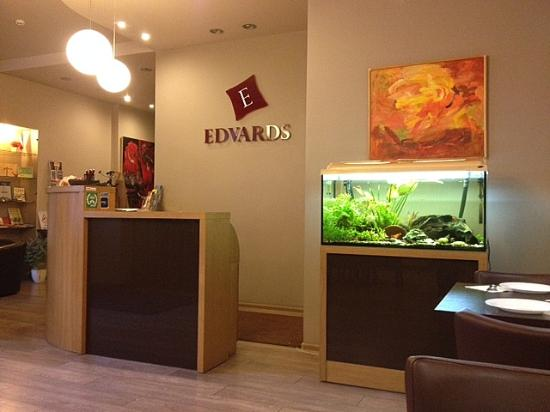 Hotel Edvards: Reception