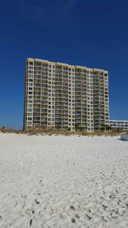 emerald isle condo is prime location on pensacola beach picture rh tripadvisor com