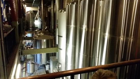 Lancaster Brewing Company: Stainless Steel Tanks