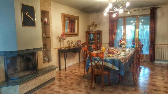 La Grande Heze : Dining room