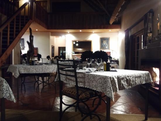 Blyde River Canyon Lodge: Sala ristorante