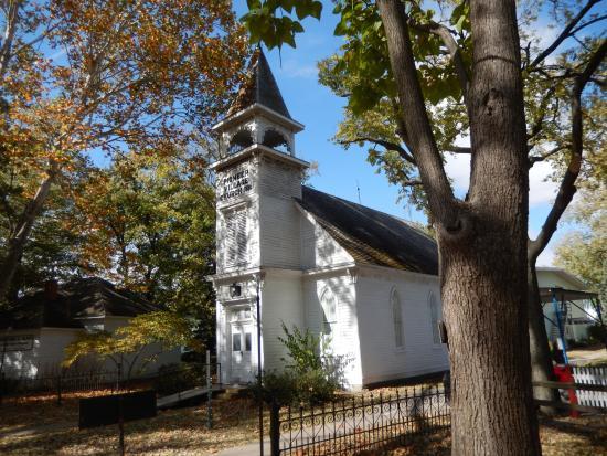 Minden's First Church at Pioneer Village
