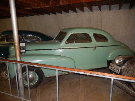 Minden, NE: 1940s Chevy at Pioneer Village