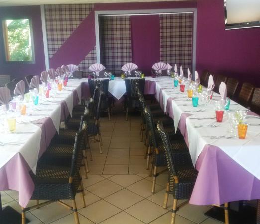 Banquets et séminaires se font sur reservation