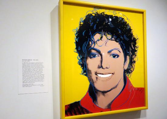 National Portrait Gallery: Andy Warhol Painting of Michael Jackson