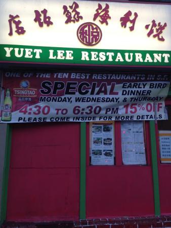 Yuet Lee : Ресторан
